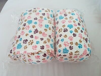 baby infant sleep support pillow safety positioner anti roll flat head cotton