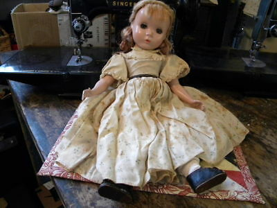 "BEAUTIFUL Vintage 14"" Madame Alexander   Little Women Hard Plastic Strung Doll"