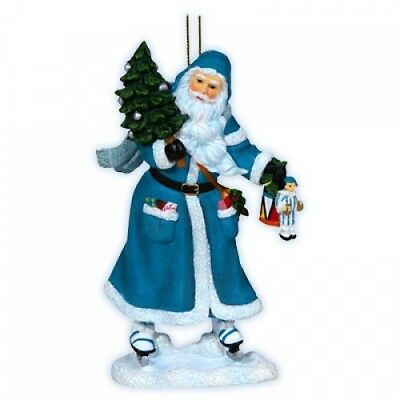 Pipka Skating Santa Ornament (7121228)
