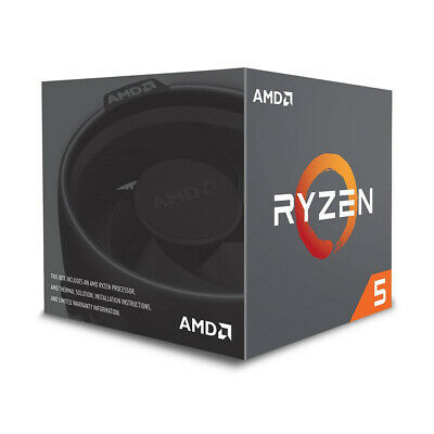 AMD RYZEN 5 2600 6-Core 3.4 GHz (3.9 GHz Max Boost) Socket AM4 YD2600BBAFBOX