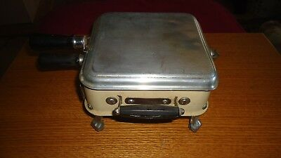 Vintage Antique Porcelain Armstrong Junior Grill/Toaster (NO CORD) FREE 48 SHIP