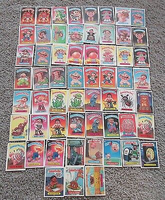 Garbage Pail Kids 1980's Series Card Lot Of 59 Rare Vintage