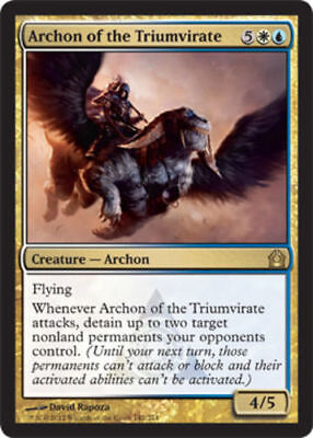 X1 Archon Of The Triumvirate Mtg Return To Ravnica Mnm English