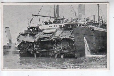 "Shipping Disaster - S.S. ""Suevic"" at Southampton"