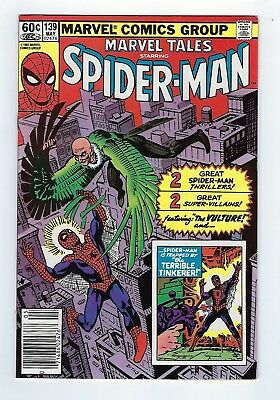 Marvel Tales #139 news stand edition (May 1982, Marvel) *VF+