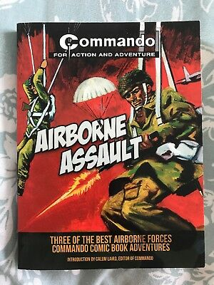 Commando Comics 'Airborne Assault' 3 in 1 Book