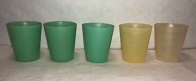 Vintage Tupperware 5pc Midget Containers 101-19 *No Lids