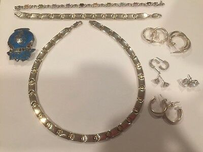 Lot of Sterling Silver Jewelry NOT Scrap ALL Wearable Over 76 Total Grams