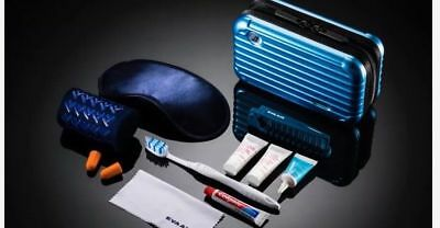 2018 New Color Collection California Blue EVA Air Business Rimowa Amenity Kit