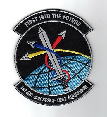 1st Air & Space Test Squadron 1 ASTS 30th Space Wing VAFB USAF Launch Patch