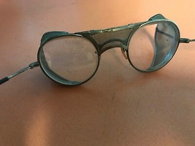 505b887182a VINTAGE BAUSCH   Lomb Safety Goggles Glasses Motorcycle Steampunk ...