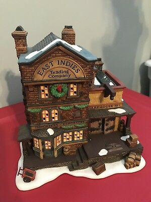 """Department 56 Dickens Village """"East Indies Trading Co."""" RETIRED #58302"""
