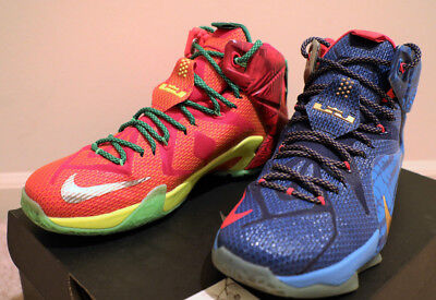 newest b7f2d aad13 Nike ID Zoom LeBron 12 XII What The Size 11 Promo Sample PE 15 14 13