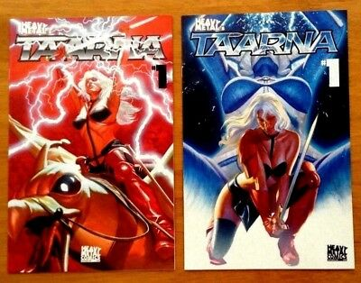 Taarna 1 Covers A & B Alex Ross Covers 1st print Heavy Metal Comics 2018 NM+