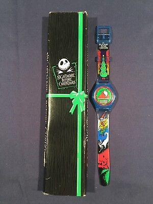 Disney Nightmare Before Christmas Christmastown Watch FREE Ship