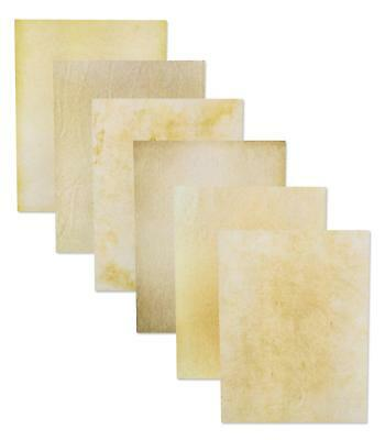 96-Sheet Stationery Paper - Old Fashion Aged Classic Vintage Antique Design,