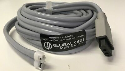 GE2017008-001 A/P NIBP adapter air hose, double tube 3.6m  **OEM Replacement**
