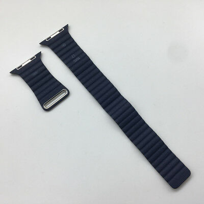 Original Apple Watch Natural Leather loop band OEM Magnetic strap Large 42mm M
