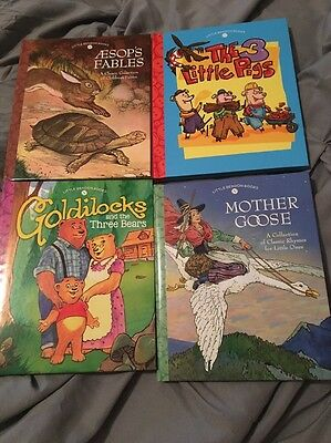 New Lot Of Four Classic Collection Little Bendon Children's Books