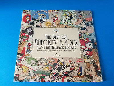Vintage Best of Mickey & Co From Hallmark Archives 1998 Calendar