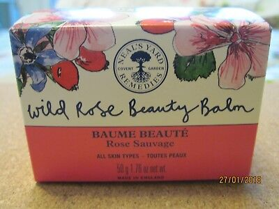 Brand New & Unopened, Neal's Yard Remedies Wild Rose Beauty Balm. 50 G. 1.76 Oz.