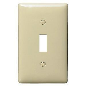 Hubbell NP1I Toggle Switch Wallplate
