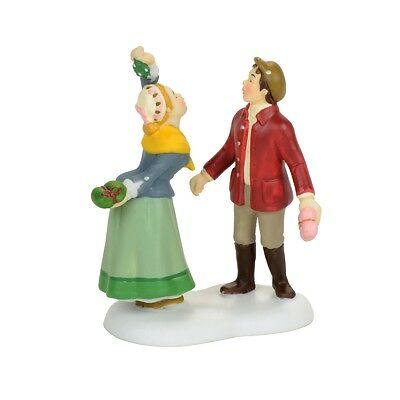 """Dept 56 Dickens Village """"TURNABOUT IS FAIR PLAY"""" NIB 2017 FREE SHIPPING"""