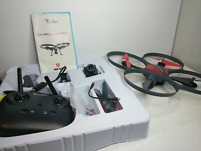Kolibri Hellfire HD Camera Drone with FPV Video Stream 15 Minutes Flight Time