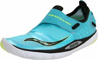 """New! Saucony """"Hattori"""" Running Shoe in Blue/Citron Size: 8 in box"""