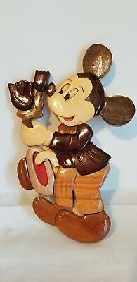 Mickey Mouse Wooden Wall Hanging