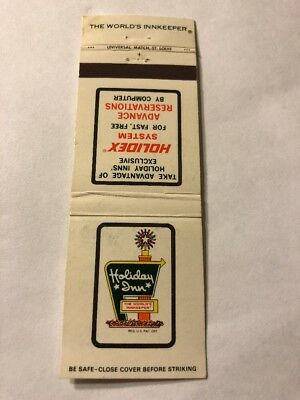 Matchbook Cover Holiday Inn Holidex System Miami, Florida F21
