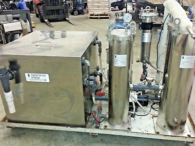 Water Jet Water Filtration and Recycling System