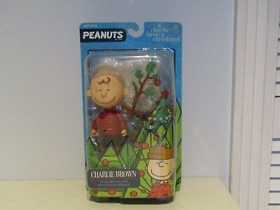 Peanuts A Charlie Brown Christmas Figures Round 2 Charlie w/ Pathetic Tree