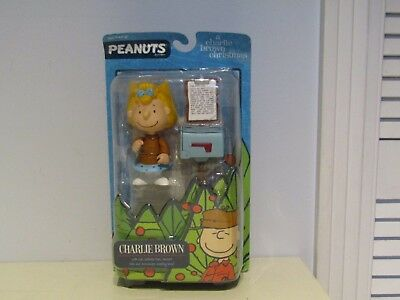 Peanuts A Charlie Brown Christmas Figures Round 2 Sally Brown