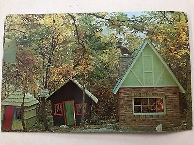 Vintage Postcard - Fairy Tale Forest (now closed), New Jersey