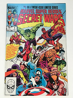Marvel Super-Heroes Secret Wars #1 (May 1984, Marvel) Used Good Condition
