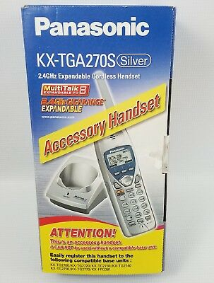 Panasonic Kx-Tga270S Handset For Kx-Tg2700 Series Brand New Not Refurbished