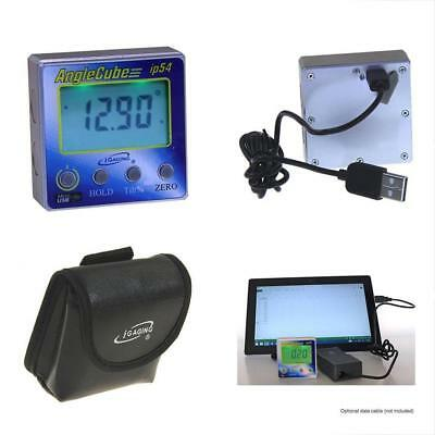 IGaging 35-2269 Angle Gage BACKLIT Digital Electronic Magnetic Gauge Cube Gen