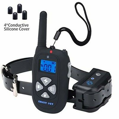Dog Training Collar Waterproof Rechargeable 1450ft Remote, Electric Shock Collar