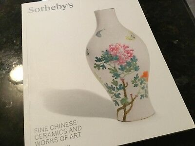 Sotheby's Fine Chinese Ceramics and Works of Art,London,2014 Auction Catalog