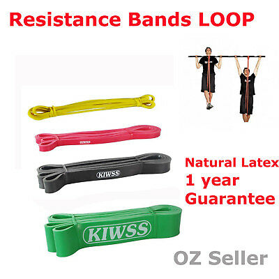 Power Heavy Duty Resistance Bands Loop Gym Yoga Fitness Workout Strength Train