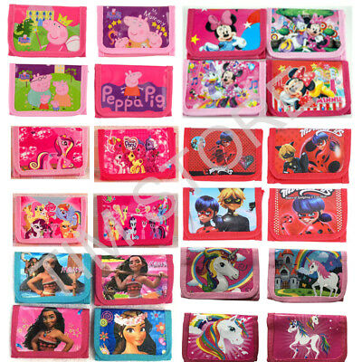 Moana PJ Mask Coin Purses Money Pouch Bags Boys Girls Wallets Party Birthday