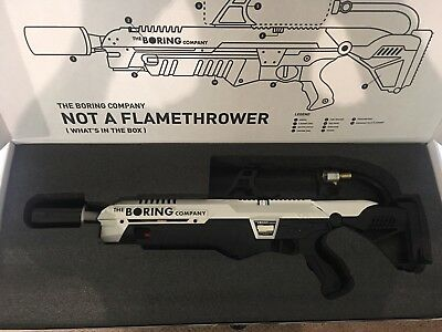 The Boring Company Not a Flamethrower BRAND NEW UNUSED & READY TO SHIP!