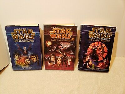 Star Wars Thrawn Trilogy Heir to the Empire Dark Force Rising Last Command