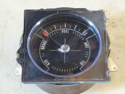 1970 1971 1972 Buick Skylark GS Fuel Gauge & Idiot Lights Original GM