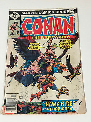 Conan The Barbarian #75 (Marvel, 1977) Used in OK Condition