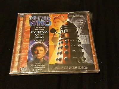 Big Finish Doctor Who audio 114 Brotherhood of the Daleks NEW
