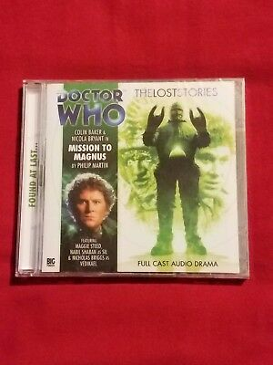 Doctor Who Big Finish Lost Stories audio 1.2 Mission to Magnus NEW