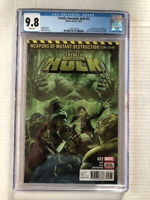 Totally Awesome Hulk #22 (2017) CGC 9.8 1st Print 1st App Weapon H