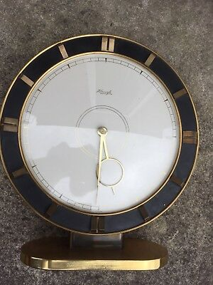 Art Deco Kienzle Heinrich Moller Table Clock In Full Working Order